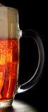 A mug of light beer. Royalty Free Stock Photos