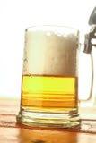 Mug of light beer Stock Image