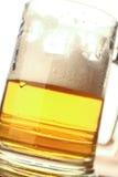 Mug of light beer Stock Photography