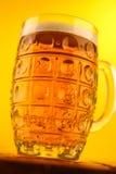 Mug of light beer Royalty Free Stock Photography