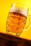 Mug of light beer Royalty Free Stock Images