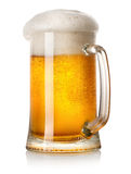 Mug of light beer Royalty Free Stock Photo