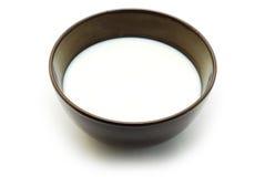 Mug with milk Royalty Free Stock Photos
