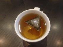 A mug of mint tea stock photography