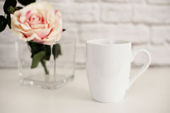 Mug Mockup. Coffee Cup Template. Coffee Mug Printing Design Template. White Mug Mockup. Blank Mug. Mockup Styled Stock Stock Photos
