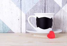 Mug with a place for text Stock Image