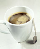 Mug of rich strong American coffee Royalty Free Stock Photo