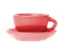 Mug with saucer Stock Photography