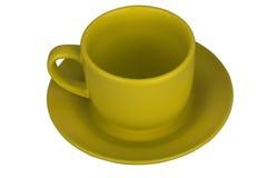 Mug with saucer Stock Image