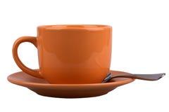 Mug with saucer Royalty Free Stock Image