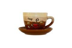 Mug with saucer Stock Photo