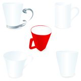 Mug set Stock Image