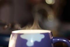 Mug steam stock images