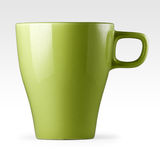 Mug, stoneware green. Stock Images