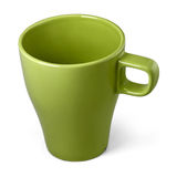 Mug, stoneware green. Stock Photography
