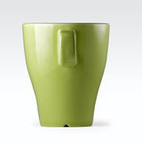 Mug, stoneware green. Royalty Free Stock Photo