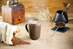 Mug of substitute coffee Stock Images