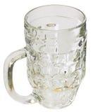 Mug table glass Stock Image