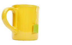 Mug and tea bag Royalty Free Stock Image
