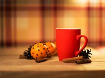 Mug Of Tea Or Coffee. Royalty Free Stock Photography