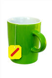 Mug with teabag ready Stock Images
