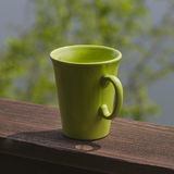 Mug on terrace Royalty Free Stock Photo