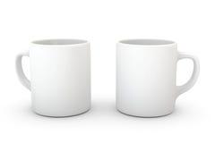 Mug on White Royalty Free Stock Photo