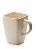 Mug on white background Stock Photos