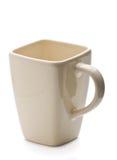 Mug on white background Stock Photos