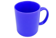 Mug on a white background Royalty Free Stock Photo