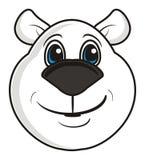 Mug white bear. Mug white bear on a white background Royalty Free Stock Photography