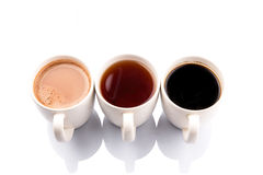 Mugd of Hot Beverages II Royalty Free Stock Image