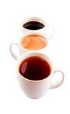 Mugd of Hot Beverages VI Stock Images