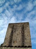 Mugdock Schloss-Unterhalt Lizenzfreie Stockfotografie