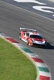 Mugello电路,意大利- 2017年10月7日, :奇弗Scuderia BAL 488驾驶的法拉利III爱德华- MALUCELLI马泰奥 免版税库存图片