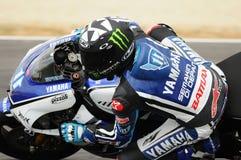 MUGELLO κύκλωμα - 13 Ιουλίου: Κατάσκοποι Yamaha του Ben που συναγωνίζονται στην όντας κατάλληλη σύνοδο των Grand Prix MotoGP της  Στοκ φωτογραφία με δικαίωμα ελεύθερης χρήσης