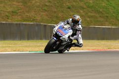 MUGELLO κύκλωμα - 13 Ιουλίου: Jorge Lorenzo της ομάδας Yamaha κατά τη διάρκεια της όντας κατάλληλης συνόδου των Grand Prix MotoGP Στοκ εικόνες με δικαίωμα ελεύθερης χρήσης