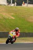 MUGELLO - ИТАЛИЯ, 13-ОЕ ИЮЛЯ: Всадник Valentino Rossi Ducati итальянки во время GP 2012 ТИМ MotoGP Италии 13-ого июля 2012 Стоковое Изображение RF
