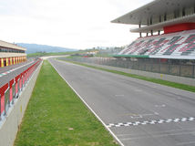 Mugello Circuit finish line Stock Photo