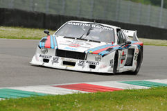 Mugello 25 de abril de 2014 clássico histórico - Lancia beta - 1979 Fotos de Stock Royalty Free