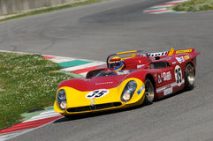 Mugello Historic Classic 25 April 2014 - ALFA ROMEO T33/3 - 1969 Royalty Free Stock Photos