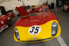 Mugello Historic Classic 25 April 2014 - ALFA ROMEO T33/3 - 1969 Royalty Free Stock Image