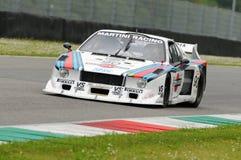 Mugello historisk klassiker 25 April 2014 - Lancia beta - 1979 Royaltyfria Foton