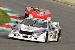 Mugello Historyczny klasyk 25 1979 Kwiecień 2014 - Lancia bety - Zdjęcie Royalty Free