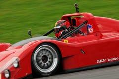 MUGELLO, IT im November 2013 Unbekanntes laufen mit Ferrari 333SP in den Mugello-Stromkreis während Finali Mondiali Ferrari 2013  Lizenzfreie Stockbilder