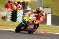 MUGELLO - ITÁLIA, O 13 DE JULHO: Cavaleiro Valentino Rossi de Ducati do italiano durante GP 2012 de TIM MotoGP de Itália o 13 de  Imagens de Stock Royalty Free