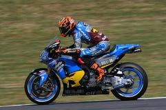 Mugello - ITÁLIA, o 2 de junho: Cavaleiro Tito Rabat de Honda Marc VDS do espanhol durante GP 2017 de Oakley de Itália MotoGP no  Foto de Stock