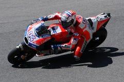 MUGELLO - ITALIË, 3 JUNI: Italiaanse Ducati-ruiter Andrea Dovizioso Win 2017 OAKLEY MotoGP GP van Italië op 3 JUNI, 2017 Stock Foto