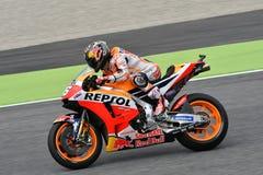 MUGELLO - ITALIË, 2 JUNI: Spaanse het Teamruiter Daniel Pedrosa van Honda Repsol bij 2018 GP van Italië van MotoGP op Juni, 2018 Royalty-vrije Stock Foto
