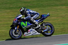 MUGELLO - ITALIË, 21 MEI: De Spaanse Yamaha-ruiter Jorge Lorenzo wint 2016 TIM MotoGP van Italië bij Mugello-kring Royalty-vrije Stock Afbeeldingen